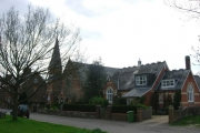 Marsh Green Church and old school house
