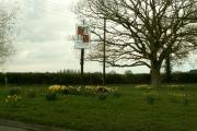 Langham village sign, Essex