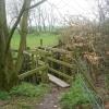 Footbridge over Rakes Brook
