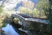 Restored Plas-y-Nant Bridge