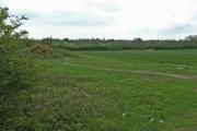 Farmland looking West from Ascot Lane, near Hatfield, Hertfordshire