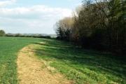 Farmland near Hanwell