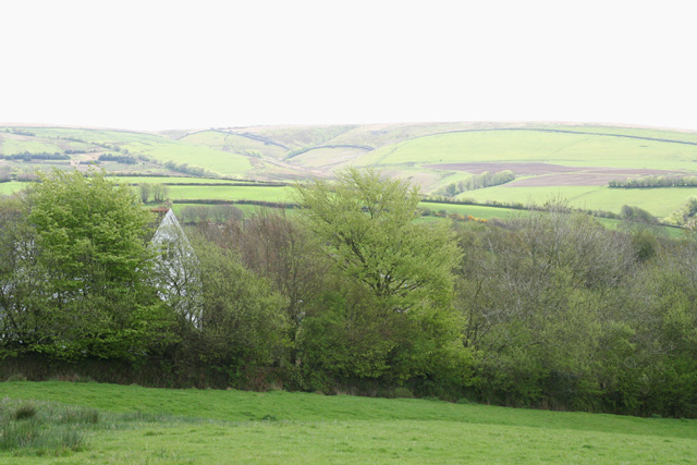 Challacombe: near Barton Gate