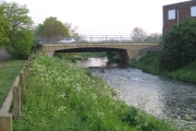 Bridge over the Ivel, Biggleswade, Beds