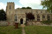 St. Nicholas church, Denston, Suffolk