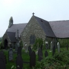 St Cawrdaf Church in Llangoed