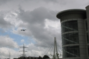 Airbus A380 over Abbey Wood