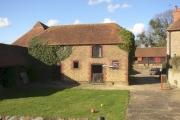 Farm building at Hydstile crossroads, Hambledon