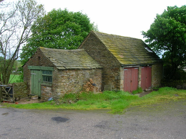 Outbuildings at Hallcliff Farm