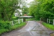 Bridge over Avon Water in Flexford Lane, nr Sway