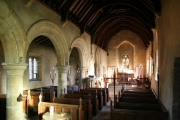 St.Oswald's church nave