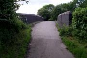 Bridge over railway