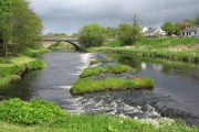 Weir on the River Doon