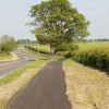 Cycle track by A418 near Thame