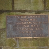 Plaque Inside Spring Well