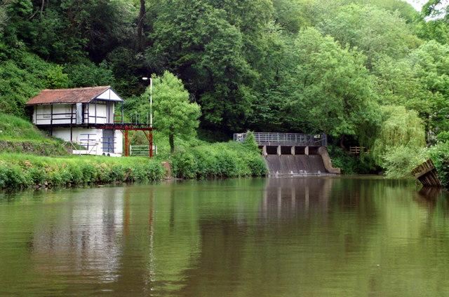 River Avon, above St Anne's Park