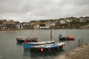Gorran Haven from the harbour arm
