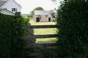 Three Crosses: footpath to Whitewalls