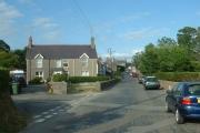 Efailnewydd village