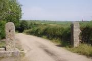 Lane to Polglase Farm