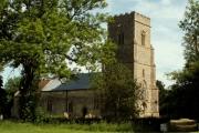 St. Nicholas church, Bedfield, Suffolk