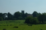View towards Loddon Church