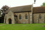 All Saints' church, Wimbish, Essex