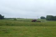 Mowing at Marton Green