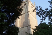 St. George church tower, Cam