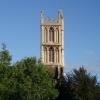 St Werburgh's Church tower.