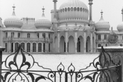 Royal Pavilion Brighton, in Snow