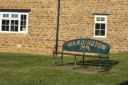 Wardington commemorative seat