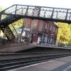 Bridge over the line at Wadhurst station