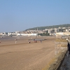 Weston-super-Mare, beach view to Knightstone
