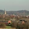 Boythorpe Rooftops with Parish Church in distance