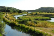 The Neath Canal and the River Neath