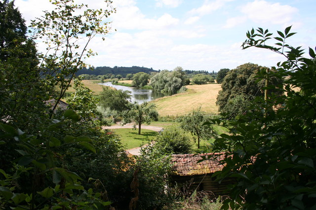 River Wye from near Lechmere's Ley
