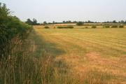 Farmland near Oasby