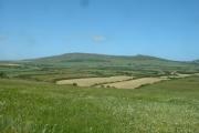 Farmland near Pen-y-bryn