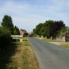 Entering the village of Marton-le-Moor