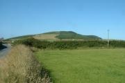 Farmland near Mynydd Cefnamwlch