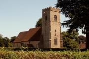 St. John's church, Great Wenham, Suffolk
