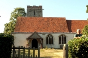 All Saints' church, Shelley, Suffolk