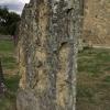 Crumbling gravestone