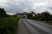 Road through the village of Sutton on Derwent