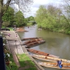 The river at the Cherwell Boathouse