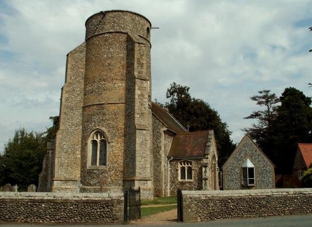 All Saints church, Beyton, Suffolk