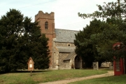 All Saints church, Drinkstone, Suffolk