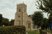 St. Ethelbert's church, Hessett, Suffolk