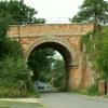 Railway bridge at Thurston, Suffolk